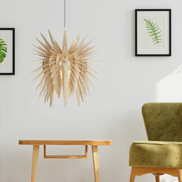 lesena dizajnerska stropna luč teazzle